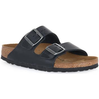 Topánky Šľapky Birkenstock ARIZONA BLACK OILED CALZ S Nero