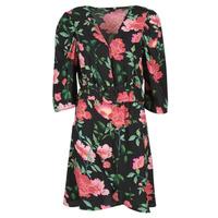 Oblečenie Ženy Krátke šaty Only ONLEVE 3/4 SLEEVE SHORT DRESS WVN Čierna / Ružová