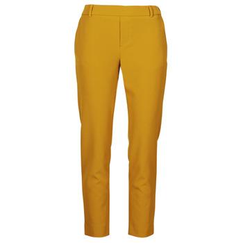 Oblečenie Ženy Nohavice Chinos a Carrot Only ONLGLOWING Žltá