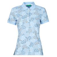 Oblečenie Ženy Polokošele s krátkym rukávom Benetton CHOLU Modrá