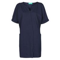 Oblečenie Ženy Krátke šaty Benetton CAMILA Námornícka modrá