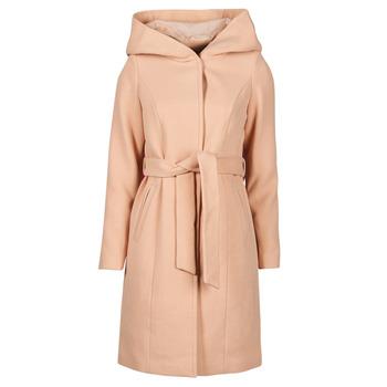 Oblečenie Ženy Kabáty Vero Moda VMCALALYON HOOD 3/4 JACKET GA Ružová