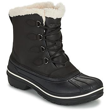 Topánky Ženy Polokozačky Crocs ALL CAST II BOOT W Čierna