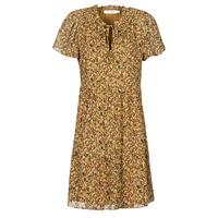 Oblečenie Ženy Krátke šaty Naf Naf MARIA R1 Ťavia hnedá