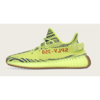 Topánky Nízke tenisky adidas Originals Yeezy Boost 350 V2 Semi Frozen Yellow Semi Frozen Yellow/Raw Steel-Red