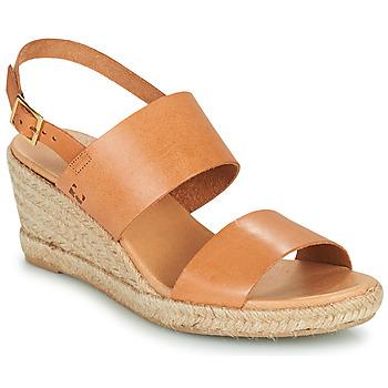 Topánky Ženy Sandále Dream in Green OLEM Svetlá hnedá