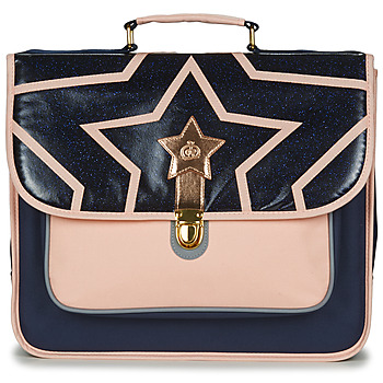Tašky Dievčatá Školské tašky a aktovky Citrouille et Compagnie SCUOLA 38CM Námornícka modrá / Ružová