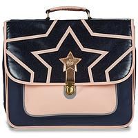 Tašky Dievčatá Školské tašky a aktovky Citrouille et Compagnie SCUOLA 41CM Námornícka modrá / Ružová