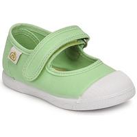 Topánky Dievčatá Balerínky a babies Citrouille et Compagnie APSUT Zelená pistáciová