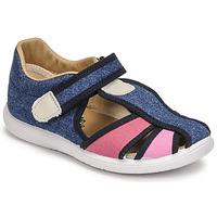 Topánky Dievčatá Sandále Citrouille et Compagnie GUNCAL Modrá / Jeans