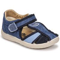 Topánky Deti Sandále Citrouille et Compagnie GUNCAL Modrá / Jeans