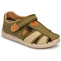 Topánky Chlapci Sandále Citrouille et Compagnie GUNCAL Kaki