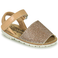 Topánky Dievčatá Sandále Citrouille et Compagnie SQUOUBEL Béžová