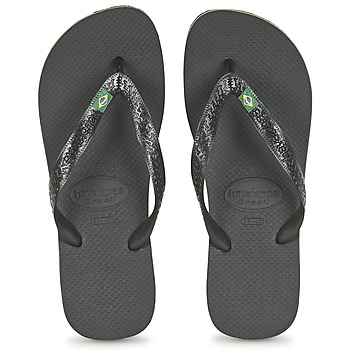 Topánky Žabky Havaianas BRASIL Čierna