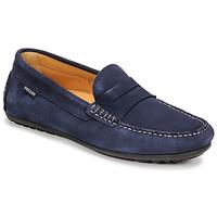 Topánky Muži Mokasíny Pellet Cador Modrá