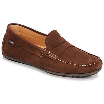 Topánky Muži Mokasíny Pellet Cador Hnedá