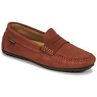 Topánky Muži Mokasíny Pellet Cador Červená