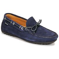 Topánky Muži Mokasíny Pellet Nere Modrá