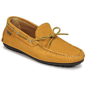 Topánky Muži Mokasíny Pellet Nere Žltá