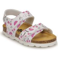 Topánky Dievčatá Sandále Citrouille et Compagnie BELLI JOE Printed / Fruit