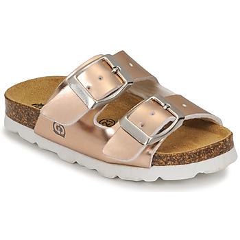 Topánky Dievčatá Šľapky Citrouille et Compagnie MISTINGUETTE Bronzová