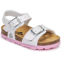 Topánky Dievčatá Sandále Citrouille et Compagnie RELUNE Biela