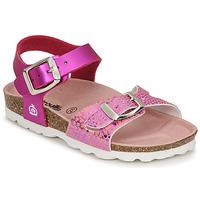 Topánky Dievčatá Sandále Citrouille et Compagnie RELUNE Ružová