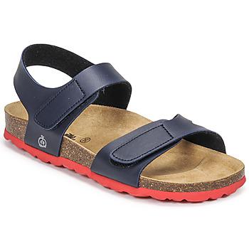 Topánky Chlapci Sandále Citrouille et Compagnie BELLI JOE Námornícka modrá / Červená