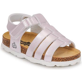 Topánky Dievčatá Sandále Citrouille et Compagnie MALIA Šampanské