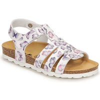 Topánky Dievčatá Sandále Citrouille et Compagnie MALIA Biela / Printed