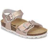 Topánky Dievčatá Sandále Citrouille et Compagnie RELUNE Bronzová