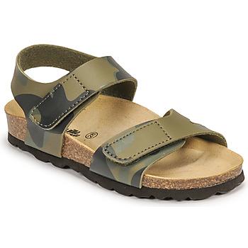 Topánky Chlapci Sandále Citrouille et Compagnie BELLI JOE Maskáčový vzor