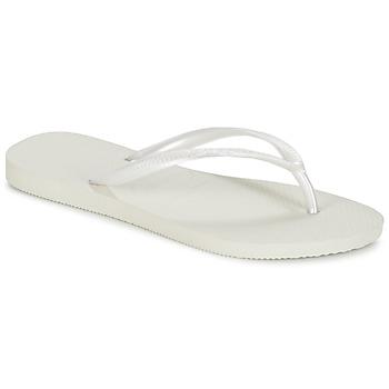 Topánky Ženy Žabky Havaianas SLIM Biela