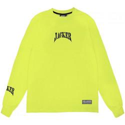 Oblečenie Muži Tričká s dlhým rukávom Jacker Corpo Zelená