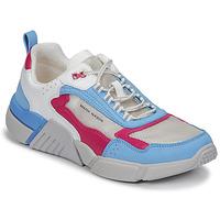 Topánky Ženy Nízke tenisky Skechers BLOCK/WEST Biela / Modrá / Ružová