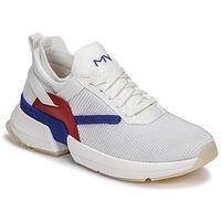 Topánky Ženy Nízke tenisky Skechers SPLIT/OVERPASS Biela / Modrá / Červená