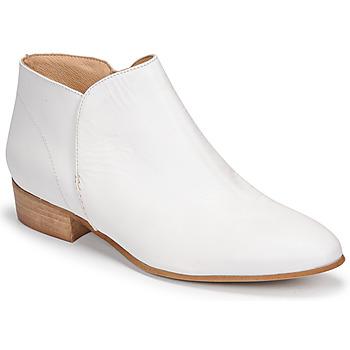 Topánky Ženy Polokozačky JB Martin AGNES Biela