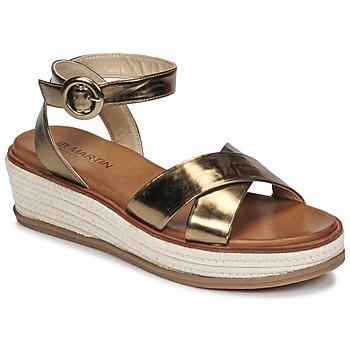 Topánky Ženy Sandále JB Martin CASTEL Kaki
