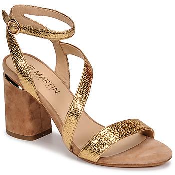 Topánky Ženy Sandále JB Martin KRYSTEN Zlatá