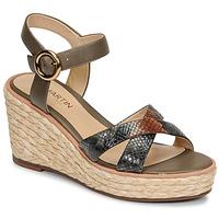 Topánky Ženy Sandále JB Martin EMEA Zelená olivová