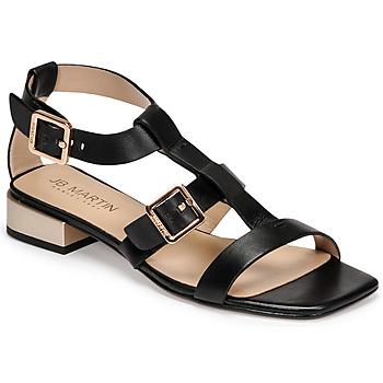 Topánky Ženy Sandále JB Martin HARIA Čierna