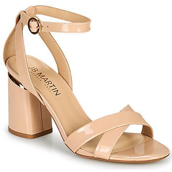 Topánky Ženy Sandále JB Martin KIMOE Svetlá púdrová