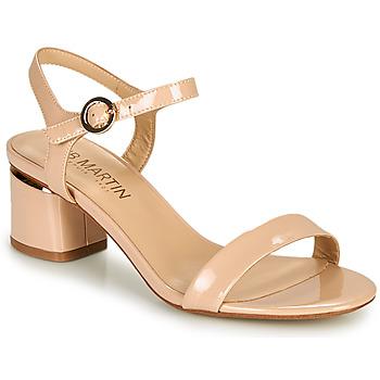 Topánky Ženy Sandále JB Martin MALINA Svetlá púdrová