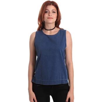 Oblečenie Ženy Blúzky Fornarina SE175J70D883SK Modrá