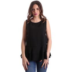 Oblečenie Ženy Blúzky Gaudi 911FD45048 čierna