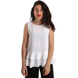 Oblečenie Ženy Blúzky Gaudi 911FD45048 Biely