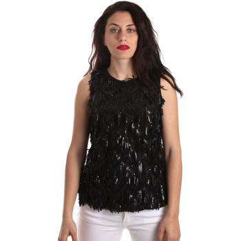 Oblečenie Ženy Blúzky Fracomina FR19SP533 čierna