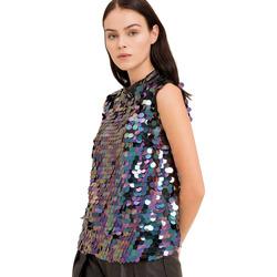 Oblečenie Ženy Blúzky Fracomina FR19FP508 čierna