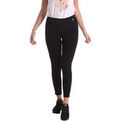 Oblečenie Ženy Nohavice Chinos a Carrot Animagemella 17AI036 čierna