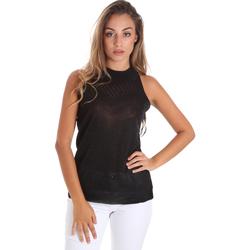 Oblečenie Ženy Blúzky Fracomina FR20SM812 čierna